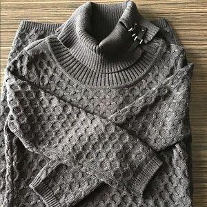 Calvin Klein Women's Turtle Neck Dress Size M